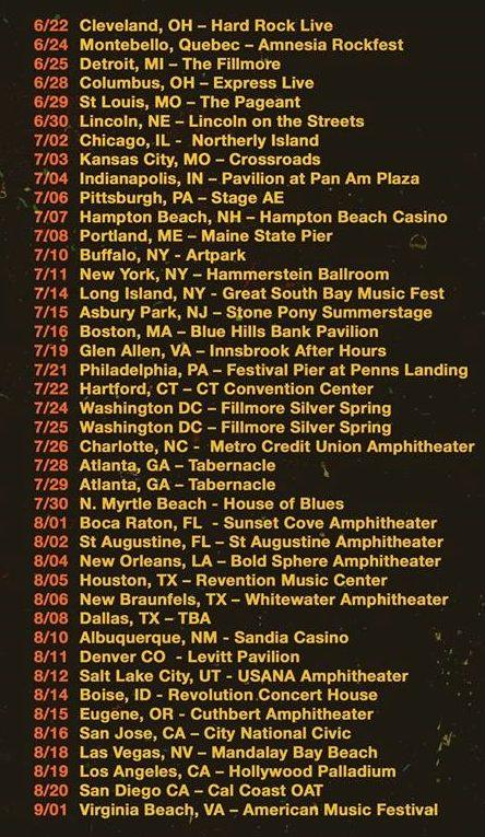 311 tour