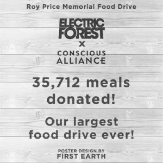 Electric Forest Food Drive