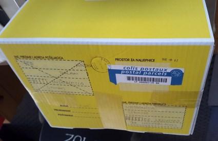 Paket yang dikirim dari Sarajevo