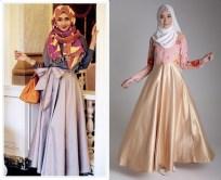 Contoh Model Baju Muslim Casual Ala Artis Masa Kini 2016-horz