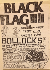 Black Flag and Bollocks