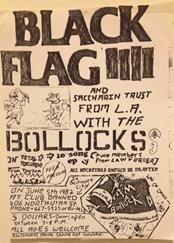 Black Flag and Bollocks
