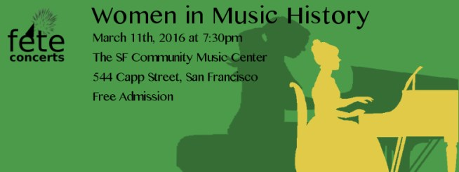 women in m history header