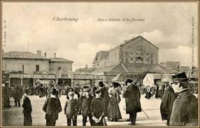 cherbourg_place-divette-fete_forraine