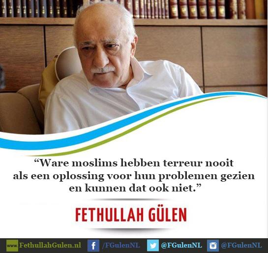 Ware moslims en terreur gaat niet samen