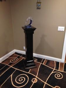 Cross/Pedestal conversion (ebony finish)