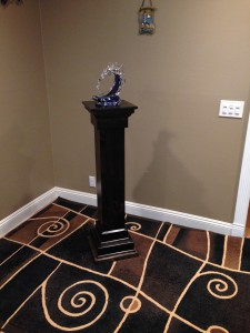 Cross/Pedestal conversion (ebony finish)