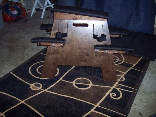 fetish furniture bondage horse