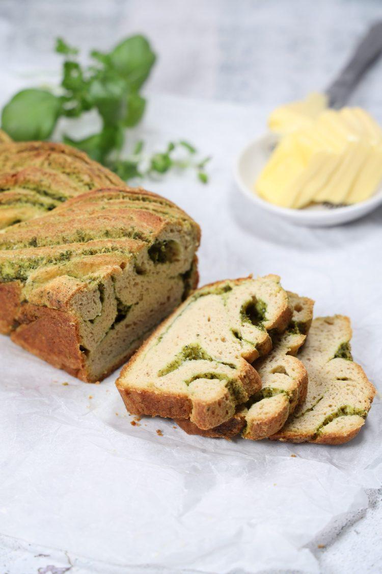 Urte- & Hvitløksbrød (Keto, Glutenfri)
