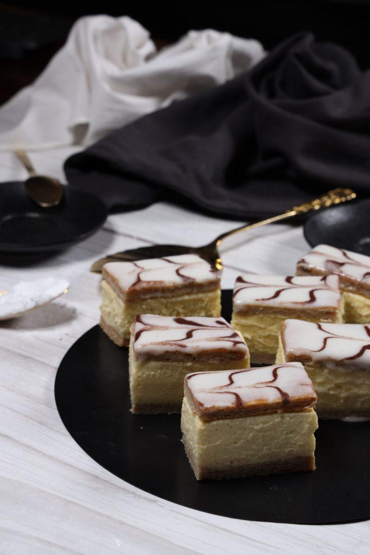 Napoleonskake (Keto, Sukkerfri, Glutenfri)