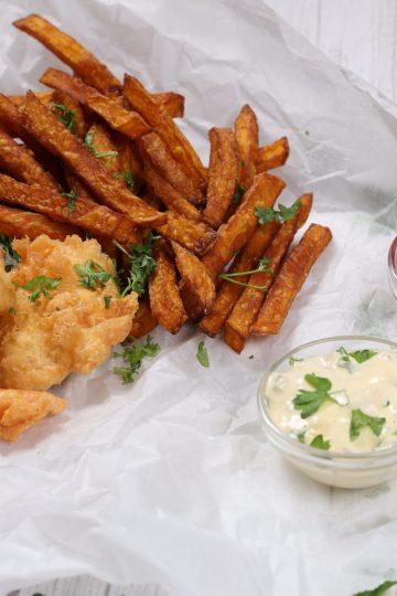 Fish 'n' chips! (Keto, Glutenfri)