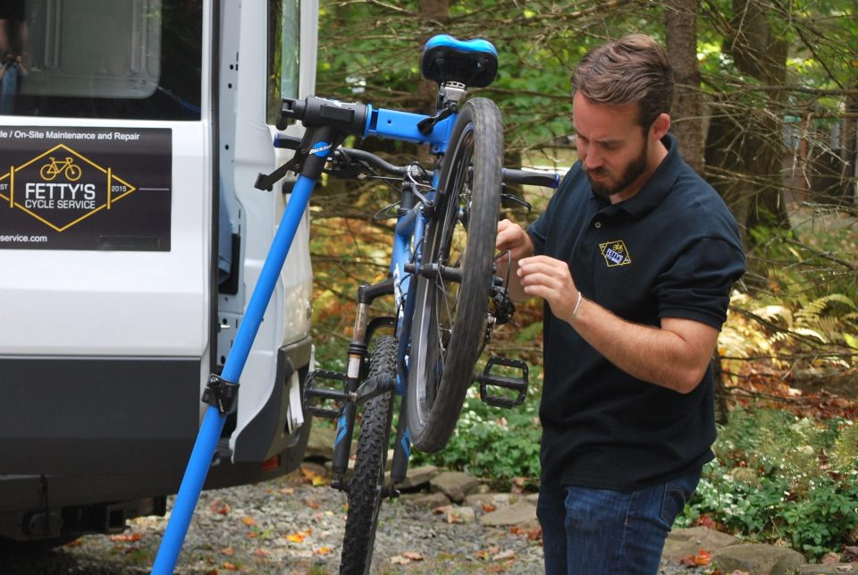 on-site bike repair service near me