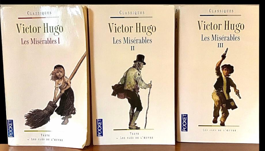 筆者が所有しているビクトル・ユーゴー著『Les Miserables』 の原作