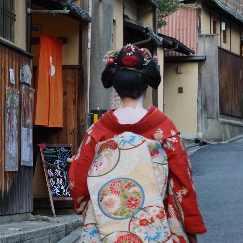 Geisha für einen Tag