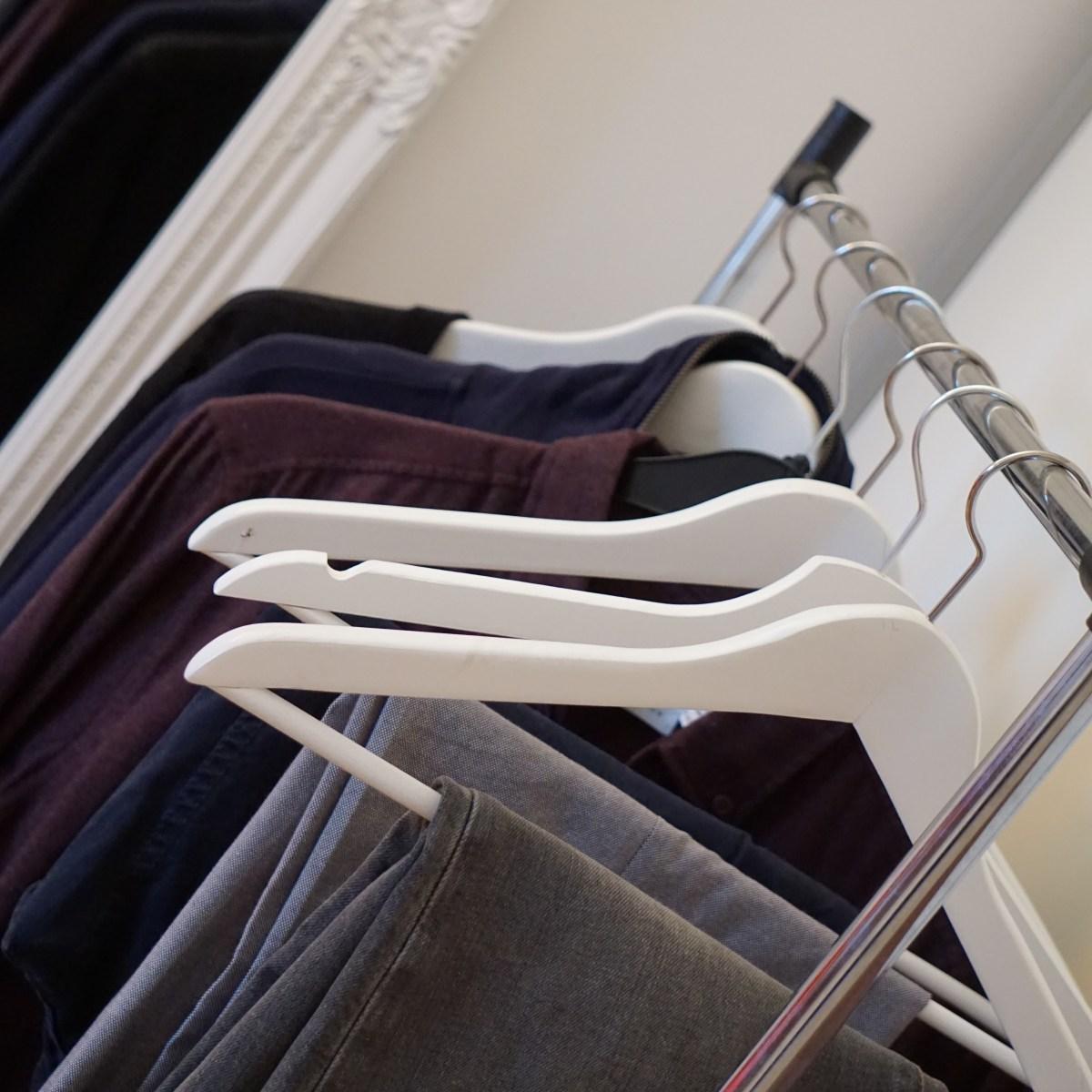 Kleiderschrank-Detox