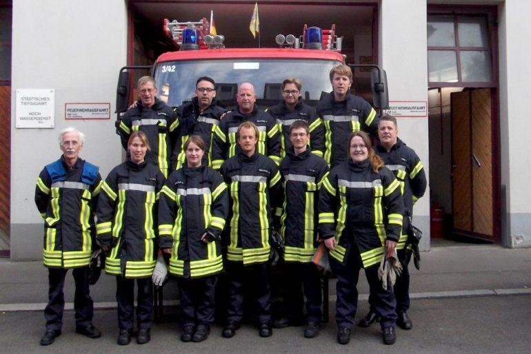 Mannschaft - Einsatzabteilung der Feuerwehr Altstadt