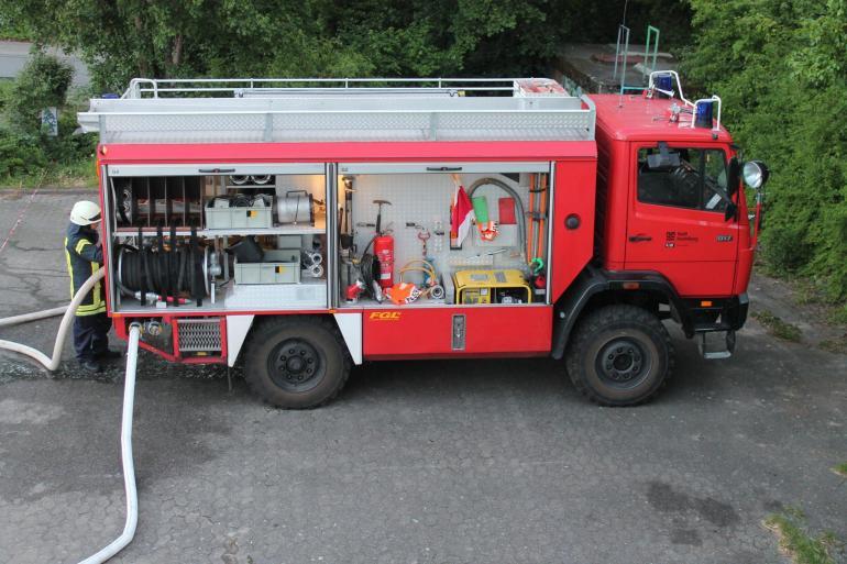 Tanklöschfahrzeug Feuerwehr