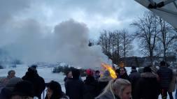 Neujahrsfeuer