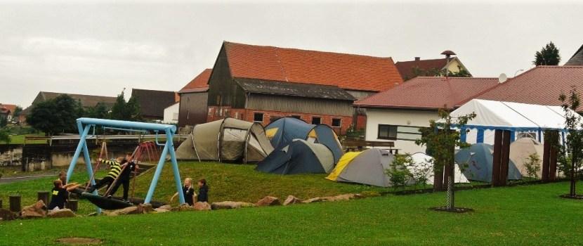 Zeltlager der Kinderfeuerwehr