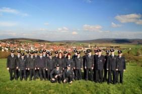 Die Einsatzabteilung der Feuerwehr Eschbach