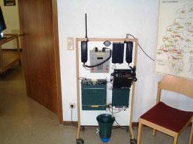 Das Equipment für die Ausbildung