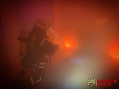 Einsatzübung mit der Feuerwehr Bolzum