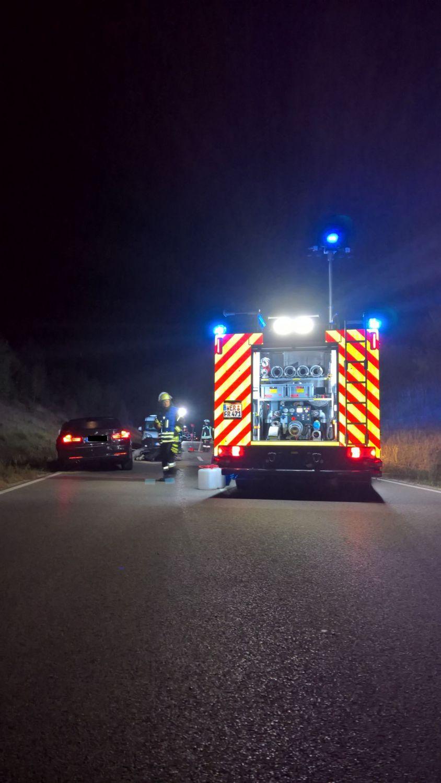 Verkehrsunfall auf der Staatsstraße bei Bliensbach