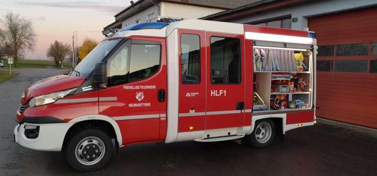 Neues HLF-1 ist eingetroffen