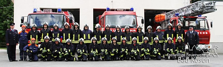 Feuerwehr Bad Kösen, Freiwillige, Gruppenbild
