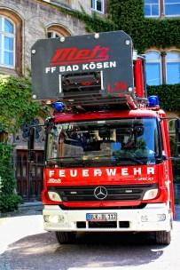 FF Bad Kösen, Freiwillige Feuerwehr, Fahrzeuge, Drehleiter mit Korb, DLK 39, Retterherzen, Leiterpark, Schulpforte, Landesschule
