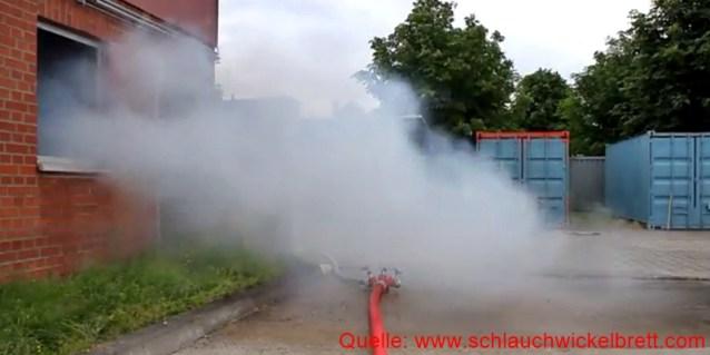 Hydraulisches Entrauchen