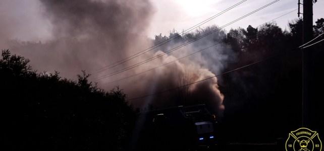 Brand in Friedewald