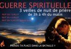 guerre spirituelle : 3 veilles de nuit de prière i du 7 au 9 juillet (pleine lune)