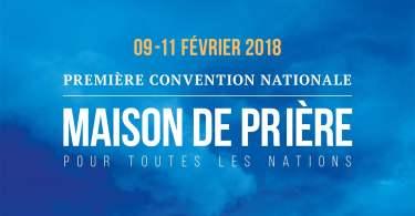 première convention de la maison de prière pour toutes les nations - ame