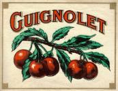 Guignolet-Etiquette