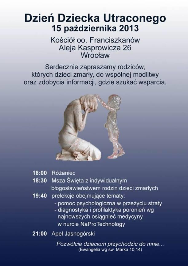 Dzien Dziecka Utraconego Wroclaw 2013