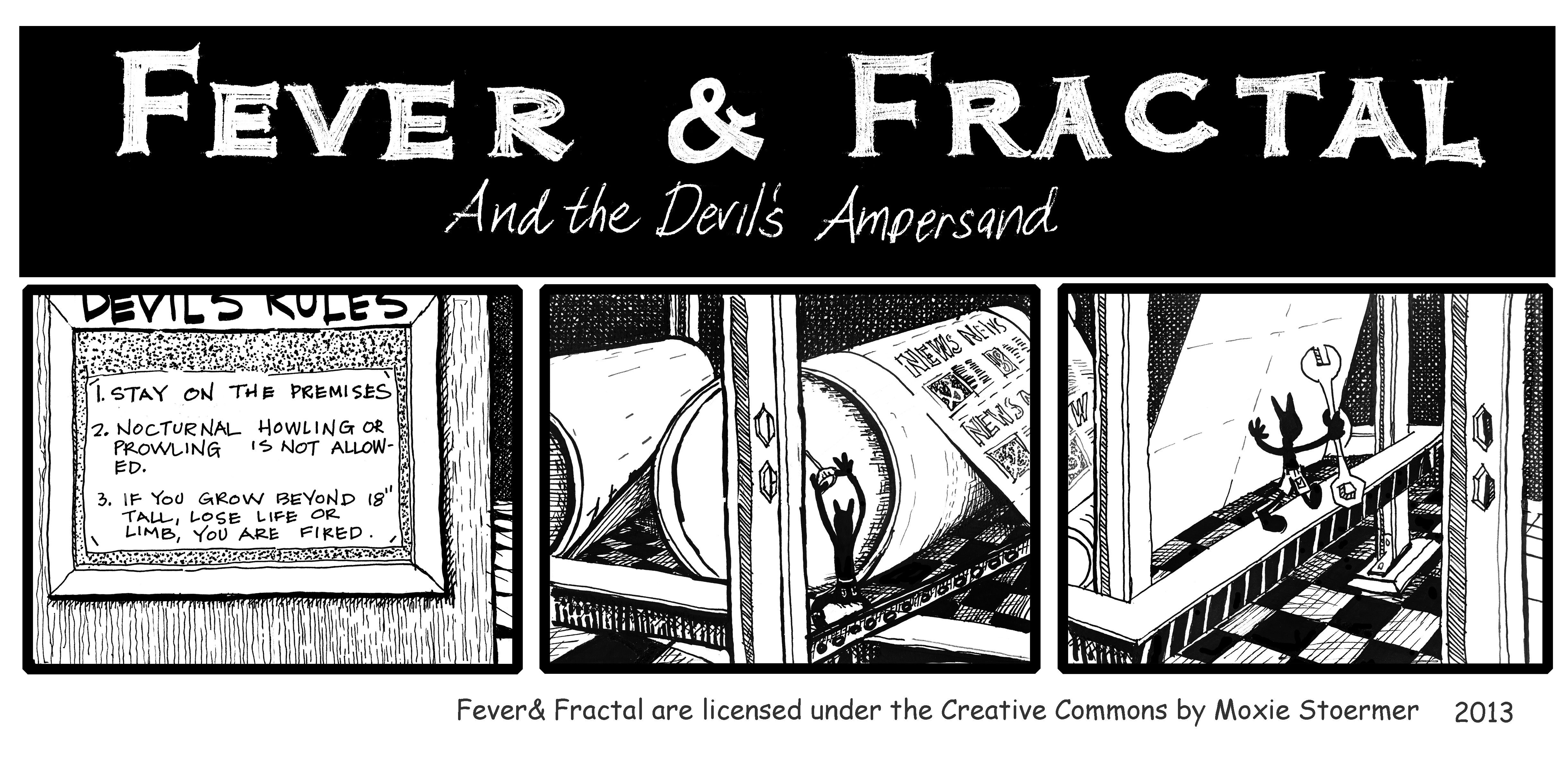 Fever and Fractal: The Devil's Ampersand 2 : 12