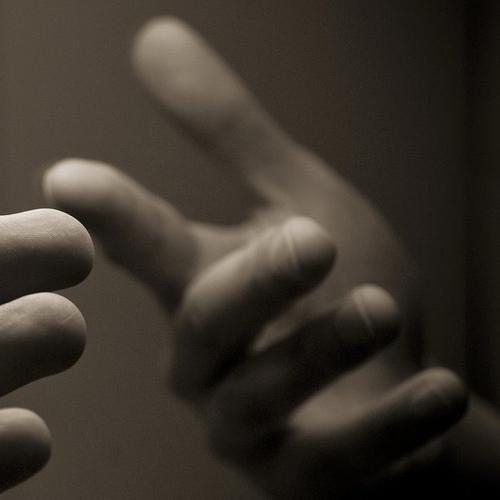 Take hand