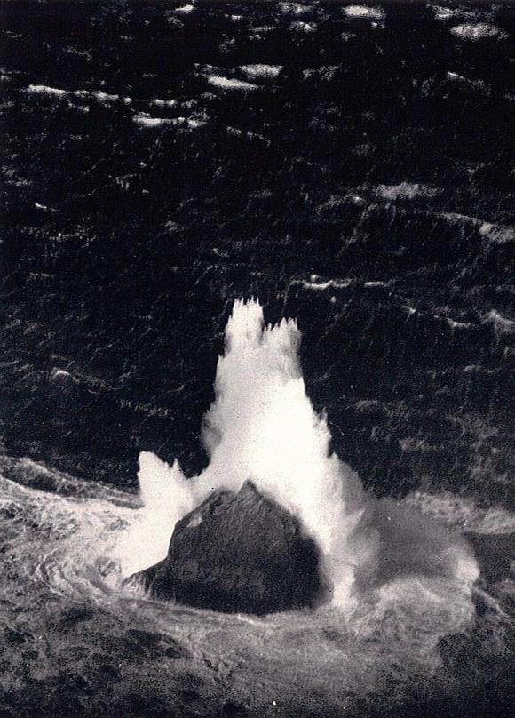 Rockall, March 1943 - James Fisher, Wikimedia Commons