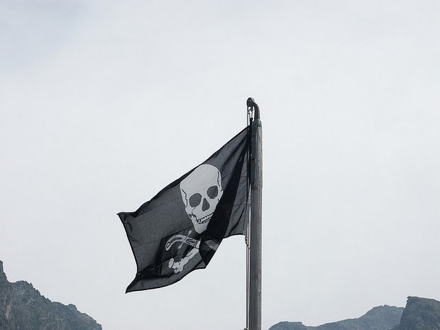 Pirate Flag, by Olivier Bruchez - Flickr