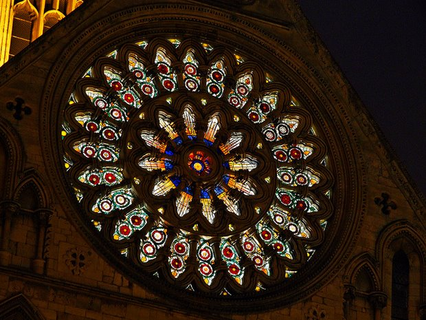 Rose Window, by Keith Laverack - Flickr