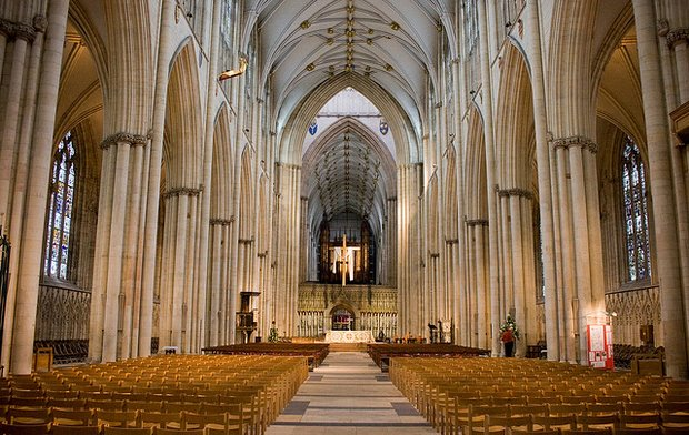 York Minster Interior, by jonoakley - Flickr