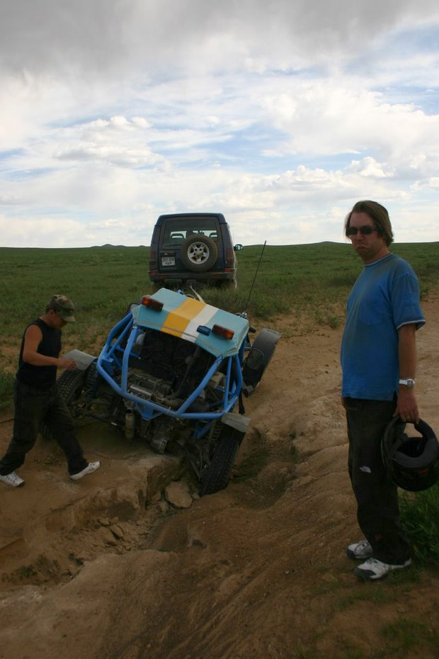 Fevered Mutterings image - Mongol Rally 2006 crash by purpaboo - Flickr