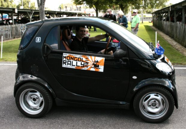 Fevered Mutterings image - Smartcar in the Mongol Rally, 2011 - Mike Sowden