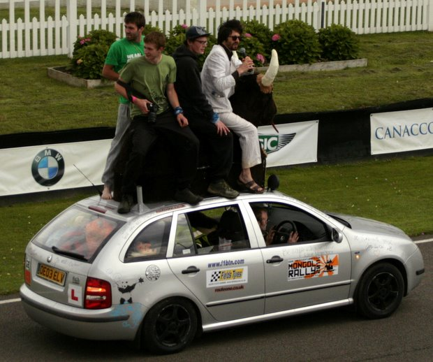 Fevered Mutterings image - Craziness on a Mongol Rally car, Festival of Slow - Mike Sowden