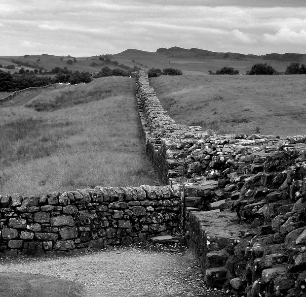 Fevered Mutterings Image: Hadrian's Wall - Mike Sowden