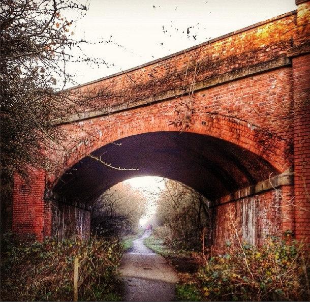 Hornsea Bridge, Trans-Pennine Way