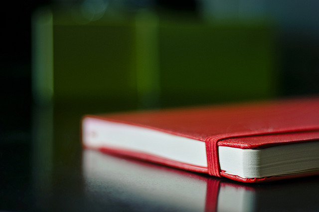 Red Moleskine Notebook