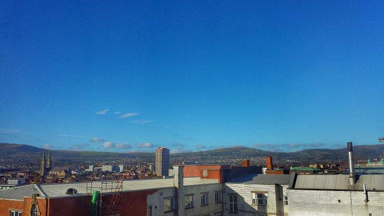 belfast blue sky