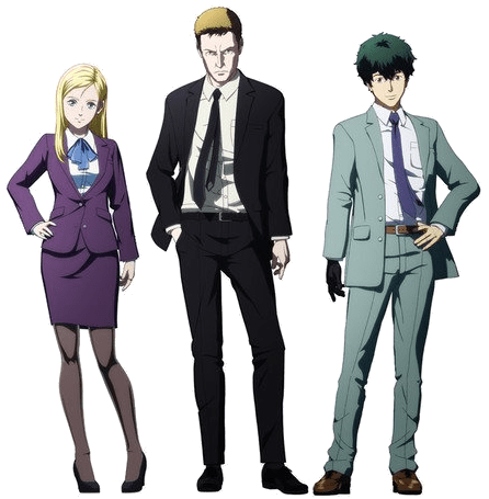 characters from Ingress: The Animation